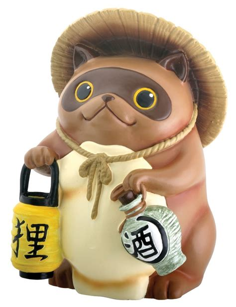 Home Decor Boston japanese raccoon dog tanuki kyuhoshi