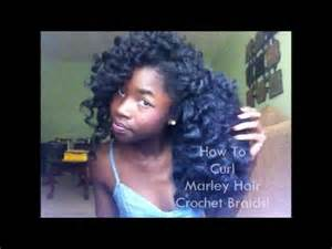 bob marley hair crochet braids how to curl marley hair crochet braids youtube
