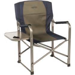 Folding Chair With Side Table K Rite Folding Director S Chair With Side Table Cc105 B H