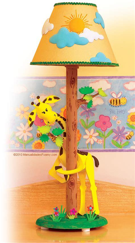 imagenes de jirafas en goma eva l 225 mpara de jirafa en foamy goma eva manualidadesfoamy com