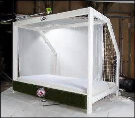 Soccer Bed by Keen Goalie At Home This Is An Amazing Bed Frame