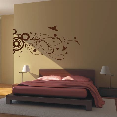 master bedroom wall decor ideas and decals for