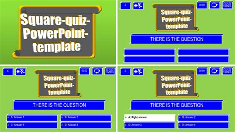 quiz theme powerpoint powerpoint quizzes templates images powerpoint template