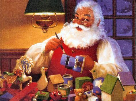 Santa Claus Vintage 254, Free Desktop Wallpapers, Cool