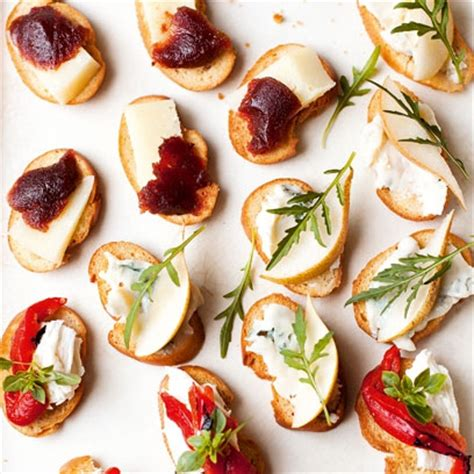 traditional canapes best easy canapes recipes