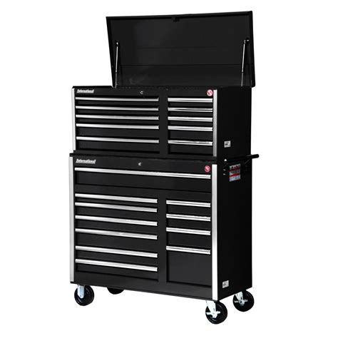 chest and cabinet combo international tech series 42 in 21 tool chest and