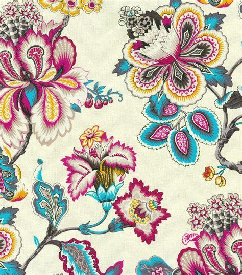 home decor print fabric hgtv home urban blosson berry hgtv home upholstery fabric bespoke blossoms peacock