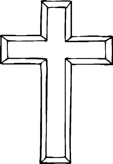 christian cross template printable clipart best