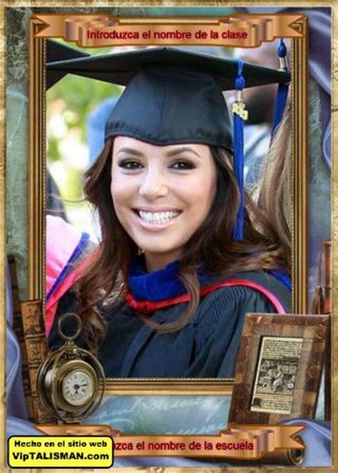 fotomontaje fotos graduacion preescolar gratis editar fotos gratis con marcos de graduaci 243 n editar