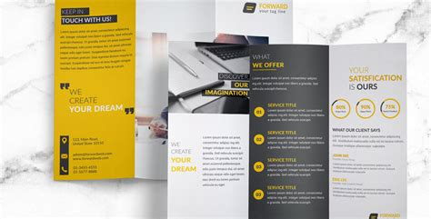 free corporate brochure templates free psd templates archives free psd files and