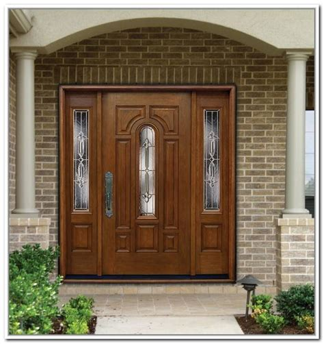 Exterior Doors With Side Panels Wooden Front Doors With Side Panels Side Panels Magnificent Modern Exterior Front Doors Doors
