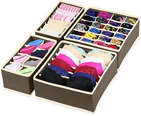 underwear organizer closet underwear organizer drawer divider 4 set fixtures