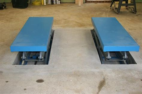 Garage Floor Car Lift by Great Step By Step Howto On Installing A Flush With The