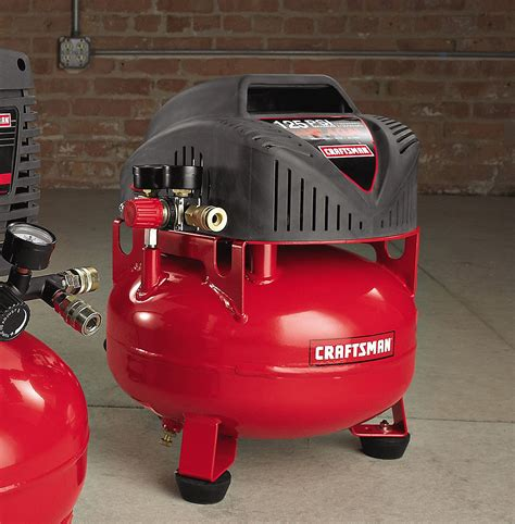 craftsman 4 gallon 0 75 hp free pancake air compressor 125 max psi free ship ebay