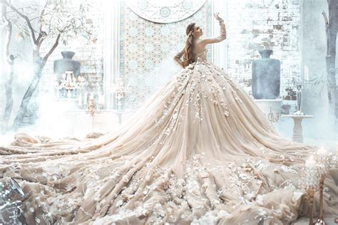 incredibly breathtaking dresses   flowers
