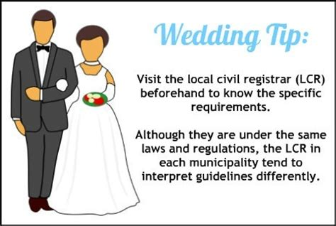 Wedding Ceremony Requirements by What Are The Requirements For A Civil Wedding In The