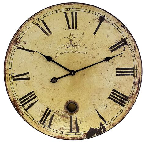 large wall clock for living room with pendulum antique vintage decorative big ebay