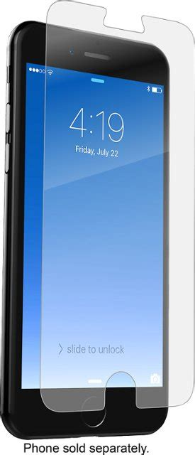 zagg invisibleshield hd glass screen protector for apple 174 iphone 174 6 6s 7 and 8 ip7dgc f00