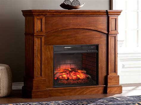 Electric Fireplace Packages by Lantana Infrared Wall Corner Electric Fireplace Mantel