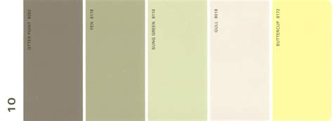martha stewart paint 5 color palette card 10 thelandofcolor