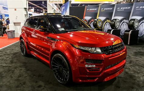 range rover evoque modified hamann range rover evoque tuned up land rovers