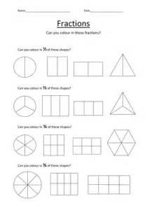 colouring fractions worksheet kellya89 teaching resources tes