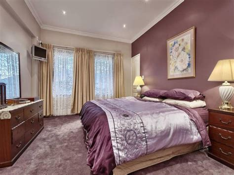 wall color in bedroom romantic bedroom wall color home combo