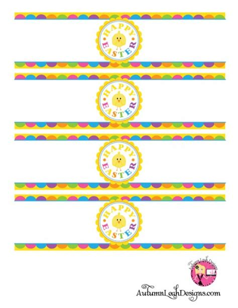 free printable easter label templates free easter party printables from autumn leah designs