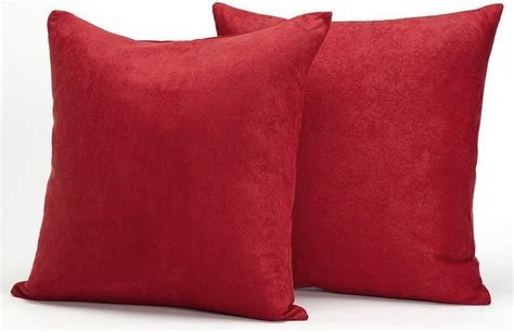 sofa pillow sets microsuede couch pillows set of 2 throw pillows 18 x 18