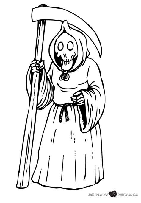 imagenes de halloween de la muerte la muerte dibujalia dibujos para colorear eventos