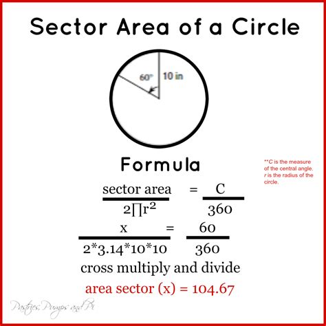 area of a circle section uncategorized arc length and sector area worksheet