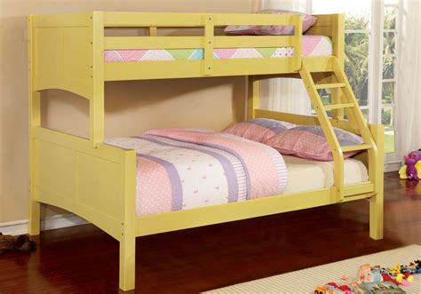 solid wood bunk beds twin over full prismo kids youth convertible twin over full bunk bed