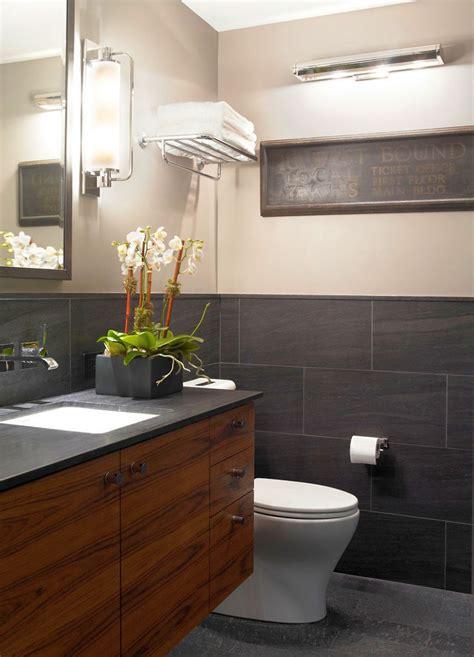 bright  inviting tiny bathroom design ideas