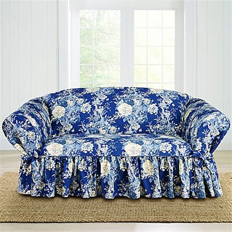 sure fit waverly ballad bouquet sofa slipcover buy sure fit 174 ballad bouquet by waverly loveseat