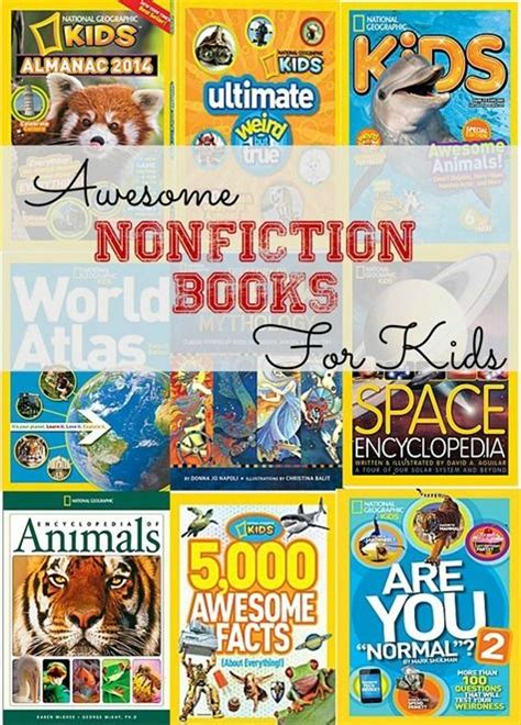 pictures of nonfiction books a list of great nonfiction books for and a giveaway