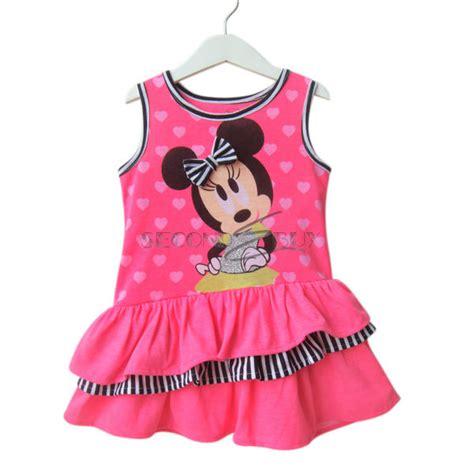 minnie mouse top dress stripe clothes