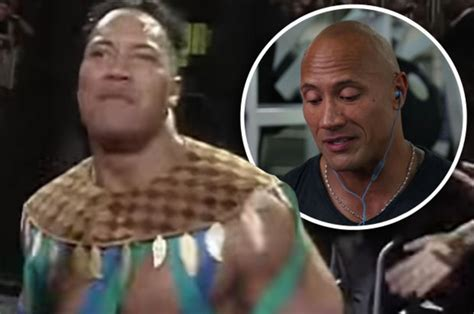dwayne the rock johnson wwe debut the rock watches back his wwe debut and reveals what