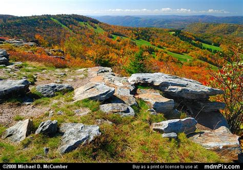 Bald Knob by Bald Knob Picture 027 October 8 2006 From Canaan Valley