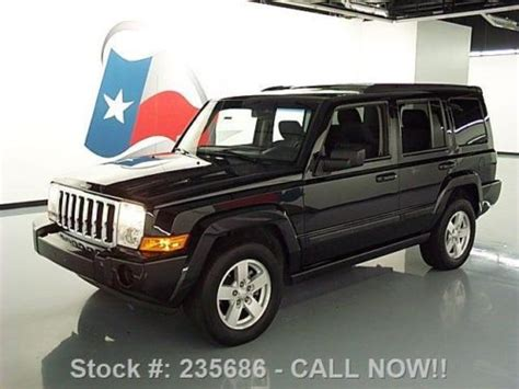 accident recorder 2008 jeep commander electronic toll collection sell used 2008 jeep commander sport 4x4 nav park assist only 69k texas direct auto in stafford