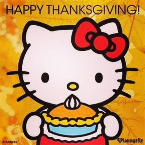 hello kitty thanksgiving wallpaper happy thanksgiving hello kitty pictures photos and