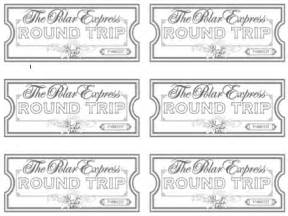 polar express ticket template sherbert cafe blank polar express ticket