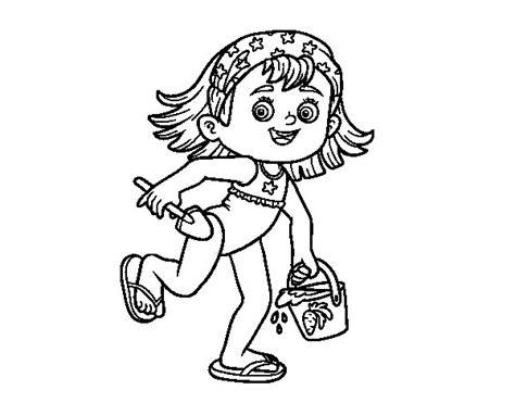 imagenes de niños jugando con otros niños dibujo de una nia para colorear trendy dibujo de una nia