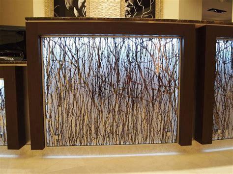 backlit resin panel backyard cottage tap room diy