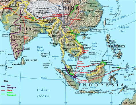 singapore map asia singapore economic relations global network