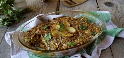 cucinare le alici al forno tortino di alici al forno con patate lapasticceramatta
