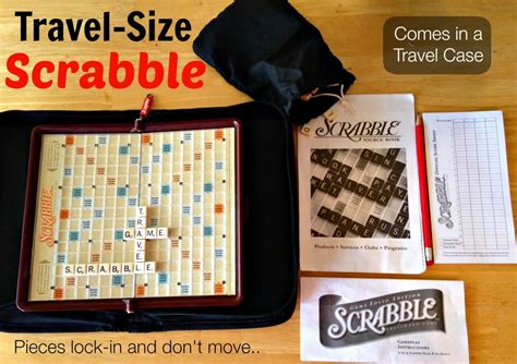 buy travel scrabble the travel size scrabble