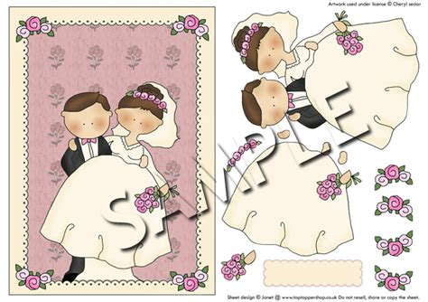 Free Decoupage Downloads For Card - wedding groom decoupage sheet