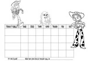behavior charts colored