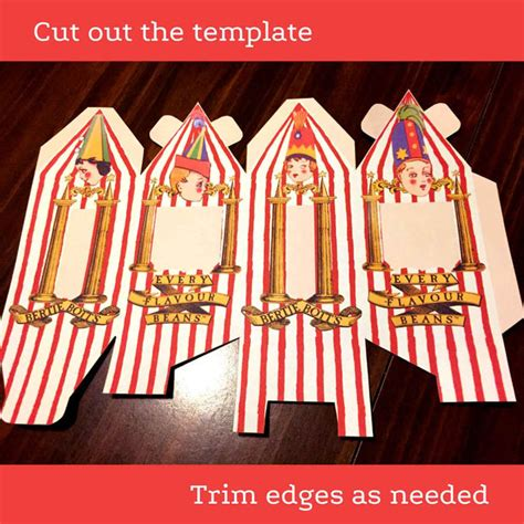 bertie botts every flavour beans template bertie bott s every flavour beans box