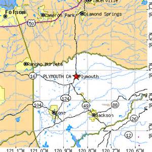 plymouth california map plymouth california ca population data races